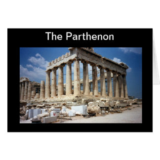 The Parthenon Card