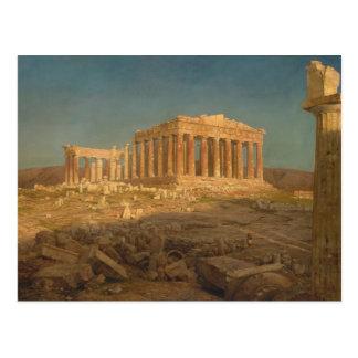 The Parthenon - Frederic Edwin Church 1871 Postales