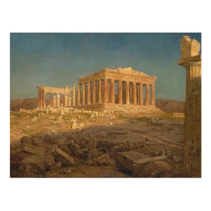 The Parthenon - Frederic Edwin Church (1871) Postcard