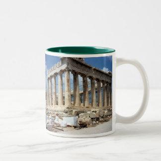 The Parthenon  Greece  Mug