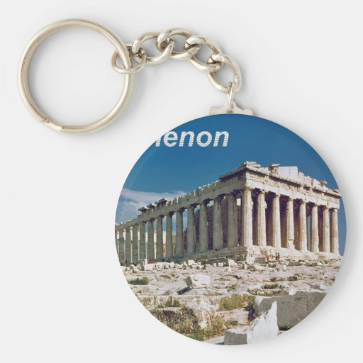 The--Parthenon--in--Athens--Angie.jpg Keychain