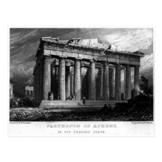 The Parthenon Postcard