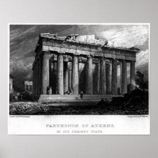 The Parthenon Poster
