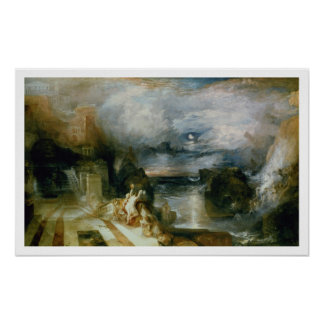 The Parting of Hero and Leander oil on canvas Print