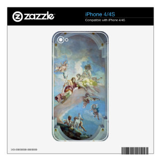 The Parting of Venus from Adonis, 1707-08 (fresco) Decal For iPhone 4S