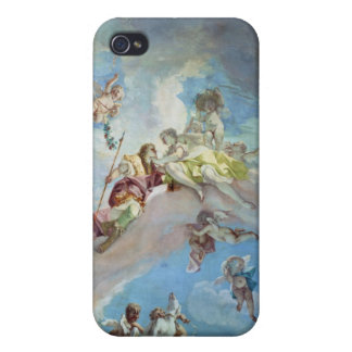 The Parting of Venus from Adonis, 1707-08 (fresco) iPhone 4 Cover