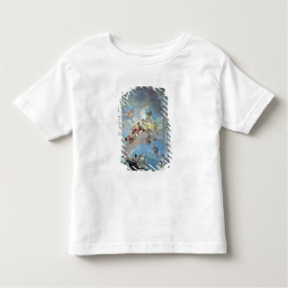 The Parting of Venus from Adonis, 1707-08 (fresco) Toddler T-shirt