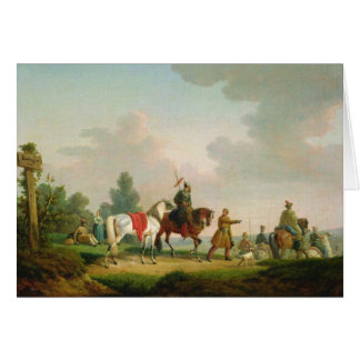 The Partisans in 1812, 1820 Card