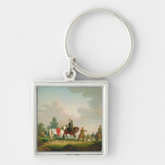 The Partisans in 1812, 1820 Key Chain