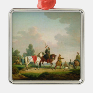The Partisans in 1812, 1820 Metal Ornament