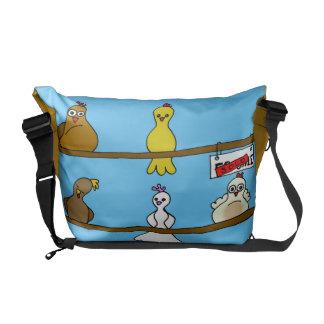 The Partridges Courier Bag