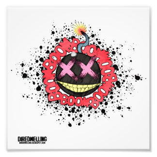 The Party Bomb!!! Photographic Print