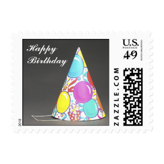 The Party Hat Postage Stamps (SMALL)