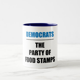 The Party of Food Stamps Mug