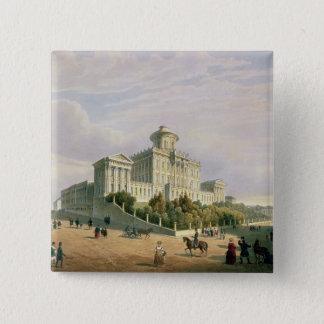 The Pashkov House , 1830s Pinback Button