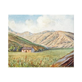The Pass on the Road from Seoul to Peking Canvas Print