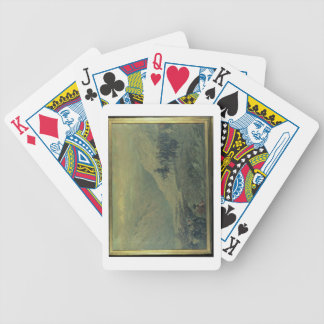 The Passage of the Andes in 1817 (oil on canvas) Bicycle Playing Cards