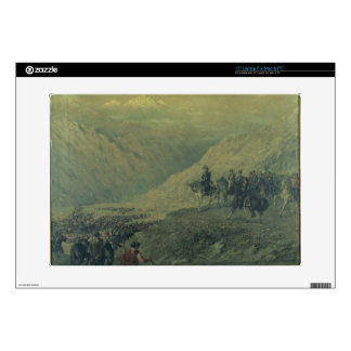 """The Passage of the Andes in 1817 (oil on canvas) Decals For 15"""" Laptops"""