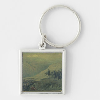 The Passage of the Andes in 1817 (oil on canvas) Keychain