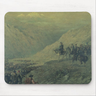 The Passage of the Andes in 1817 (oil on canvas) Mouse Pad