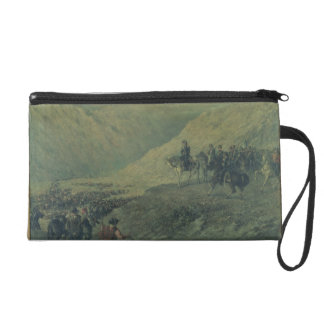 The Passage of the Andes in 1817 (oil on canvas) Wristlet