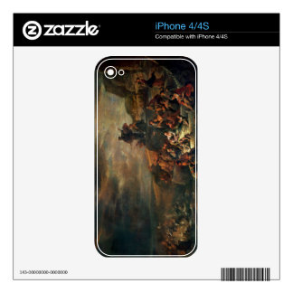 The Passage of the Red Sea (oil on canvas) Decals For The iPhone 4S
