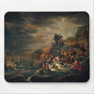 The Passage of the Red Sea (oil on canvas) Mouse Pad