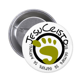 The passages of Jesus Pinback Button