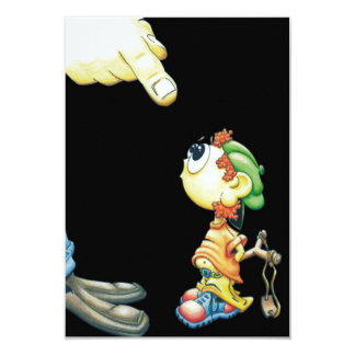 """The Passarinho Boy leading rough""/ Card"