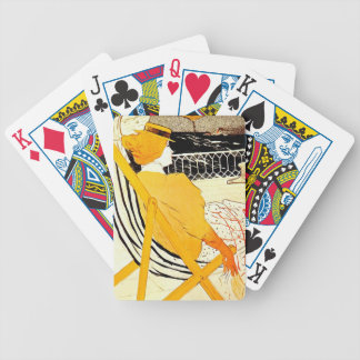 The Passenger in Cabin 54 Bicycle Playing Cards