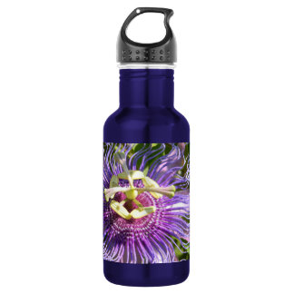 The Passion Flower Stainless Steel Water Bottle