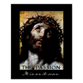The Passion - It is as it was. Poster