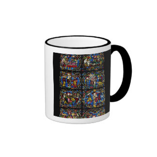 The Passion, lancet window in the west facade, 12t Coffee Mug