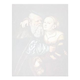 The Passionate Old By Cranach D. Ä. Lucas (Best Qu Custom Letterhead