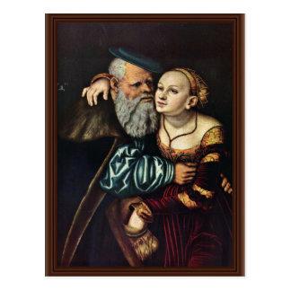 The Passionate Old By Cranach D. Ä. Lucas (Best Qu Postcard