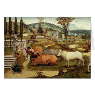 The Passions of Pasiphae, wife of King Minos of Cr Card