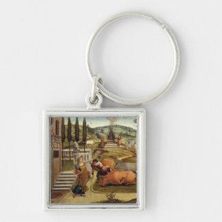 The Passions of Pasiphae, wife of King Minos of Cr Keychain