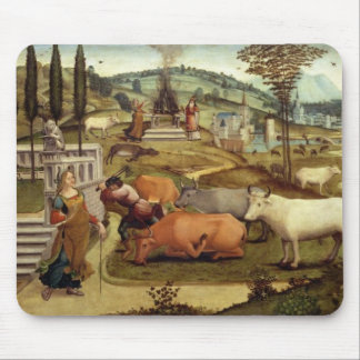 The Passions of Pasiphae, wife of King Minos of Cr Mouse Pad