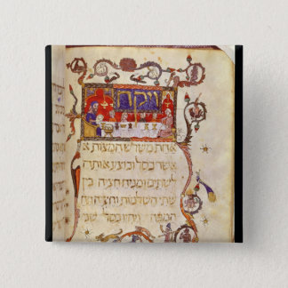 The Passover Meal, Northern Spain Pinback Button