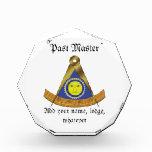 The Past Master Acrylic Award