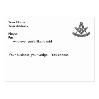 The Past Masters Card Business Cards