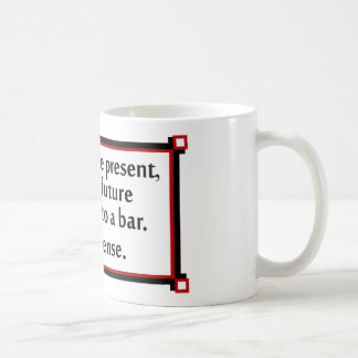 The past the present and the future mugs