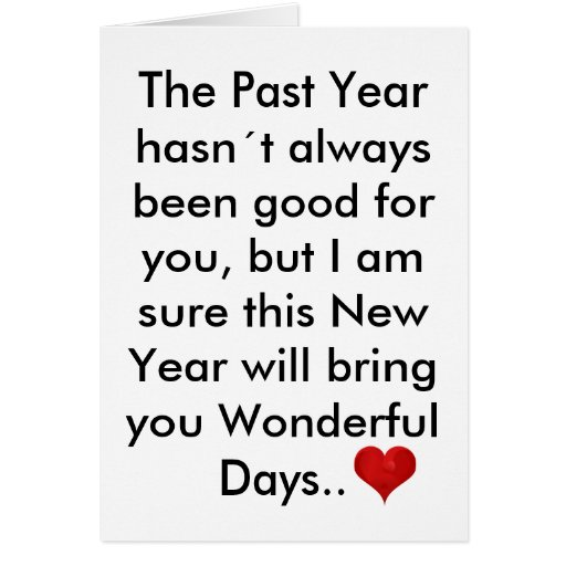 The Past Year Letter Happy New Year Inspirational