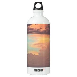 The Pastel Storm Aluminum Water Bottle