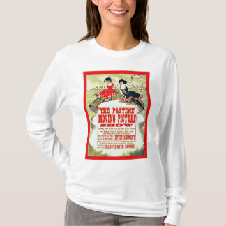 The Pastime Moving Picture Show ~ Vintage T-Shirt