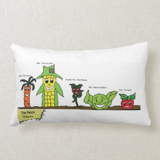 The Patch, Organics Characters Pillow