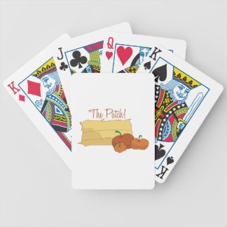 The Patch Bicycle Playing Cards