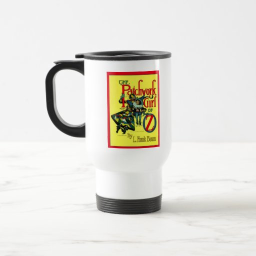 The Patchwork Girl Of Oz 15 Oz Stainless Steel Travel Mug