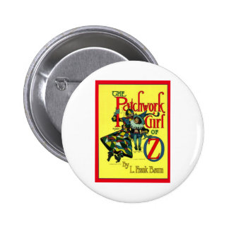The Patchwork Girl Of Oz 2 Inch Round Button