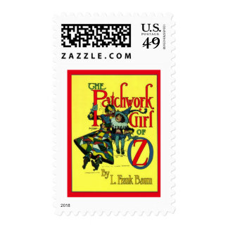 The Patchwork Girl Of Oz Stamp